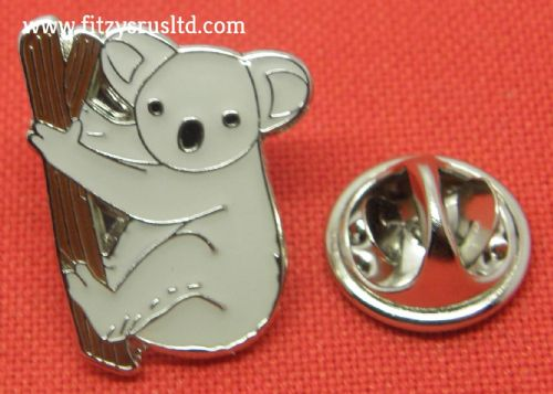 Koala Bear Lapel Pin Badge Cute Cuddly Animal Lovers Brooch